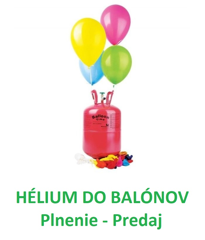 helium do balonov