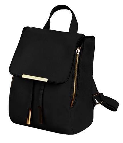 Módny ruksak dámsky - čierny 8fdd30bc06